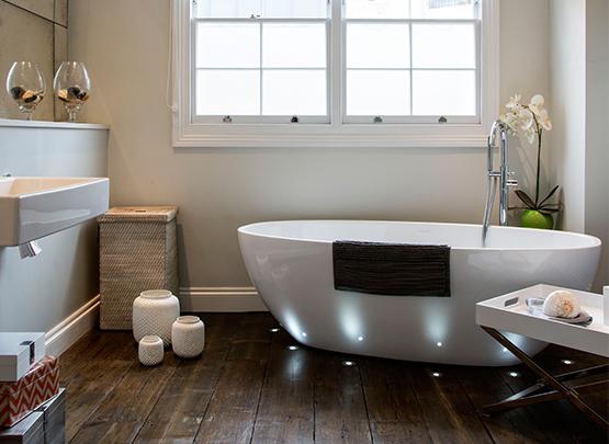 идея дизайна спа ванной комнаты