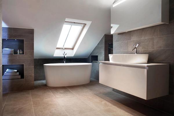 Идеи дизайна ванной в лофте