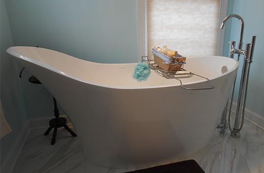 идея для ванной обычной