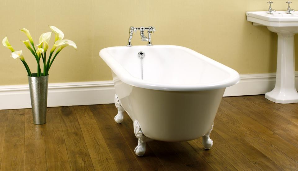 традиционный английский стиль ванной комнаты