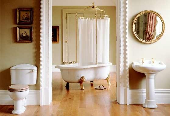 классическая ванная комната в английском стиле